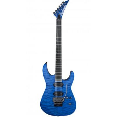 JACKSON GUITARS PRO SOLOIST SL2Q MAHOGANY TRANS BLUE