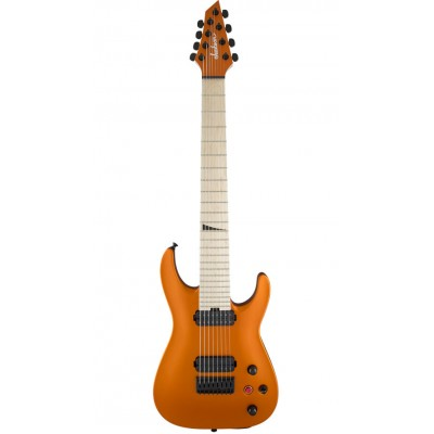 JACKSON GUITARS PRO SERIES DINKY DKA8M HT MN SATIN ORANGE BLAZE
