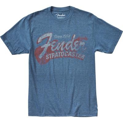 FENDER SINCE 1954 STRAT T-SHIRT BLUE M