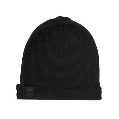 FENDER SLOUCH BEANIE BLACK ONE SIZE