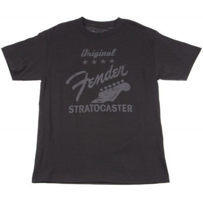 FENDER ORIGINAL STRAT T-SHIRT CHARCOAL S