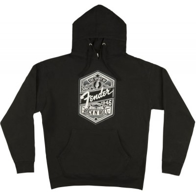 FENDER SPIRIT OF ROCK 'N' ROLL MEN'S HOODIE BLACK XXL