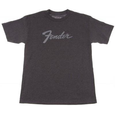 FENDER AMP LOGO T-SHIRT CHARCOAL S