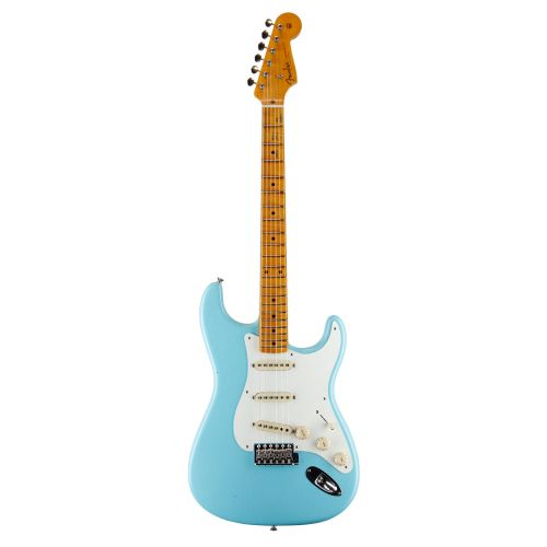 FENDER LTD 50S JOURNEYMAN RELIC STRATOCASTER FADED DAPHNE BLUE