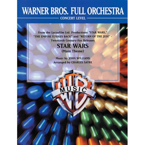 ALFRED PUBLISHING WILLIAMS JOHN - STAR WARS MAIN THEME - FULL ORCHESTRA