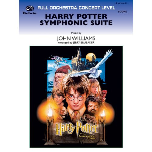 ALFRED PUBLISHING WILLIAMS JOHN - HARRY POTTER SYMPHONIC SUITE - FULL ORCHESTRA