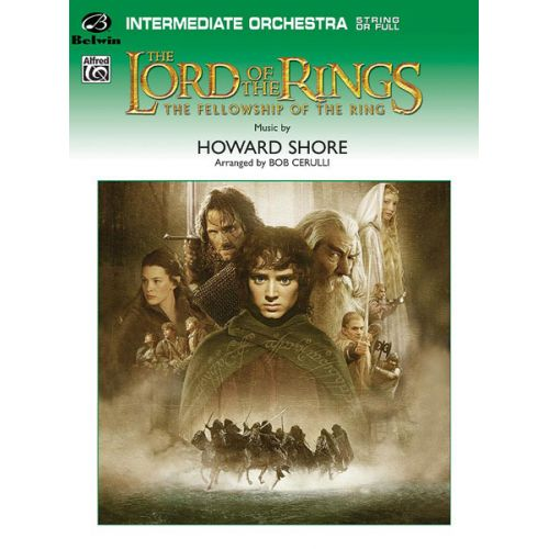 ALFRED PUBLISHING SHORE HOWARD - LORD OF THE RINGS: FELLOWSHIP - FLEXIBLE ORCHESTRA