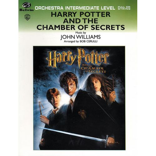 ALFRED PUBLISHING WILLIAMS JOHN - HARRY POTTER - CHAMBER SECRETS - FLEXIBLE ORCHESTRA
