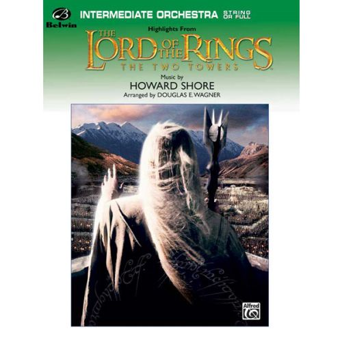 ALFRED PUBLISHING SHORE HOWARD - LORD OF THE RINGS: TWO TOWERS - FLEXIBLE ORCHESTRA