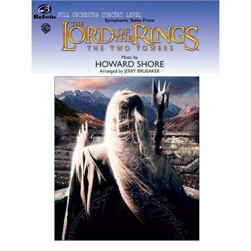 ALFRED PUBLISHING SHORE HOWARD - LORD OF THE RINGS TWO TOWERS - FULL ORCHESTRA