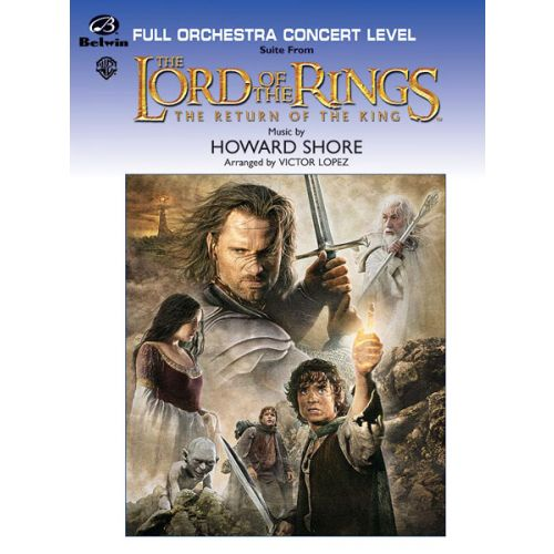 ALFRED PUBLISHING SHORE HOWARD - LORD OF THE RINGS: RETURN ,KING - FULL ORCHESTRA