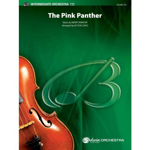 ALFRED PUBLISHING MANCINI HENRY - PINK PANTHER - FLEXIBLE ORCHESTRA