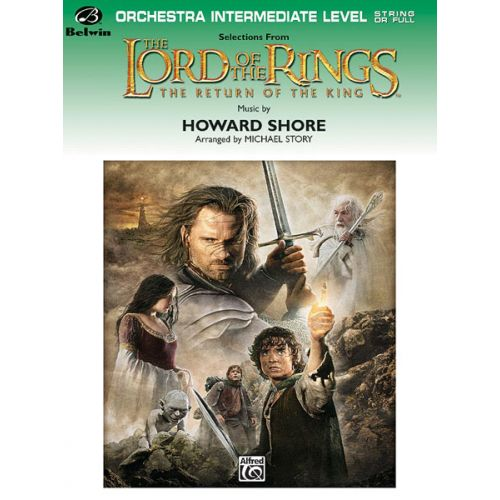 ALFRED PUBLISHING SHORE HOWARD - LORD OF THE RINGS: RETURN/KING - FLEXIBLE ORCHESTRA