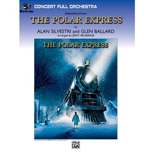 ALFRED PUBLISHING BRUBAKER JERRY - POLAR EXPRESS, CONCERT SUITE - FULL ORCHESTRA