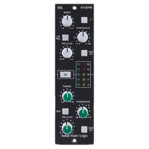 SOLID STATE LOGIC MODULE 611E-SERIES DYNAMIQUE - EXPANDER/GATE - 4000 SERIES