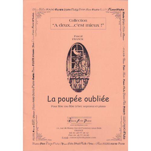FERTILE PLAINE FRANCK P. - LA POUPEE OUBLIEE - FLUTE (FLB) ET PIANO