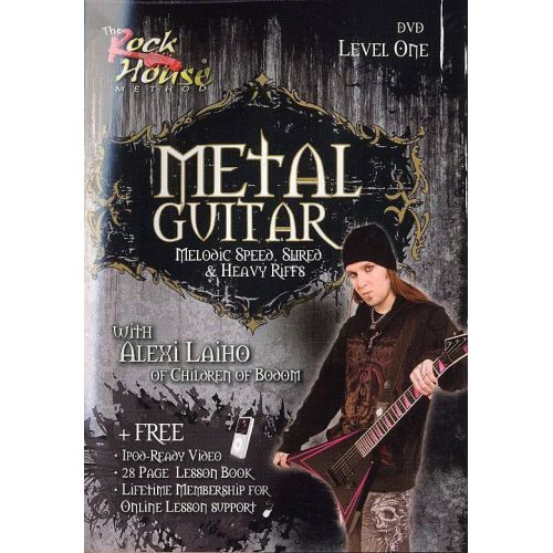 MUSIC SALES LAIHO ALEXI - METAL GUITAR LEVEL 1 DVD