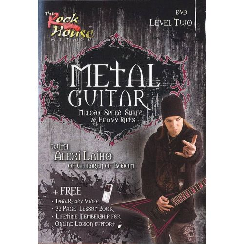 MUSIC SALES LAIHO ALEXI - METAL GUITAR LEVEL 2 DVD