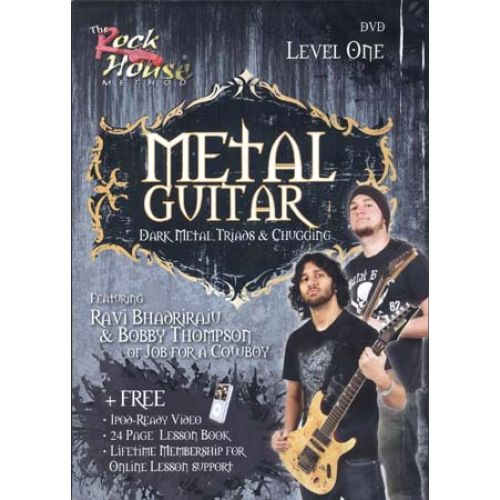 MUSIC SALES ROCK HOUSE METAL GUITAR LEVEL 1