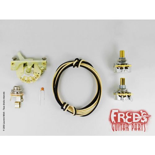 ALLPARTS ALLPARTS KIT DE CABLAGE COMPLET TELE (CRL,SWITCHCRAFT,CTS...)