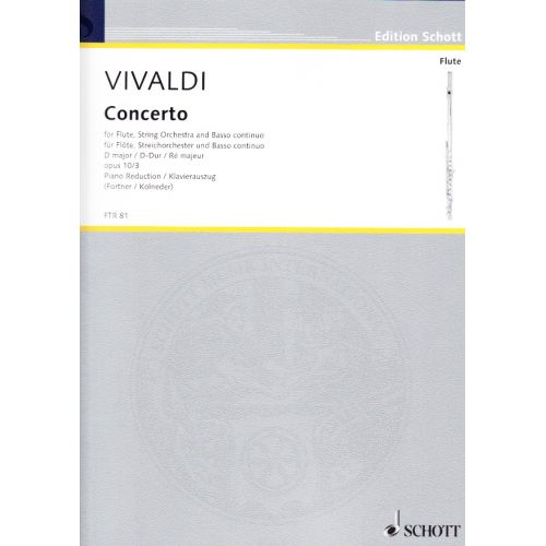SCHOTT VIVALDI CONCERTO III, OPUS X :