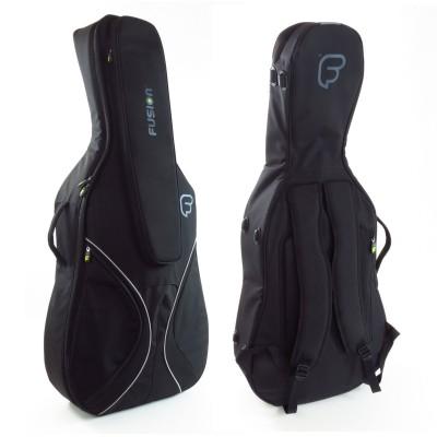 Fusion bags 4 4 housse violoncelle noire fc 04 bk for Housse violoncelle