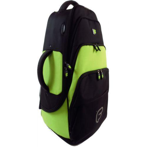 FUSION BAGS TASCHE SAXHORN TENOR BLACK/GREEN LIME PB-03-L