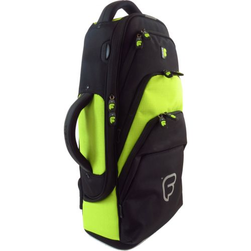 FUSION BAGS BAG FOR SAXOPHONE ALTO BLACK/GREEN LIME PW-01-L