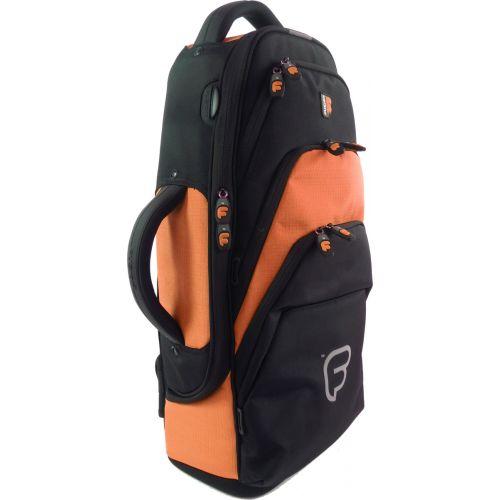 FUSION BAGS BAG FOR SAXOPHONE ALTO BLACK/ORANGE PW-01-O