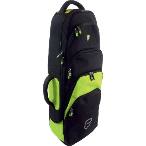 FUSION BAGS BAG FOR SAXOPHONE TENOR BLACK/GREEN LIME PW-02-L