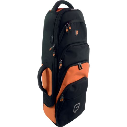 FUSION BAGS BAG FOR SAXOPHONE TENOR BLACK/ORANGE PW-02-O
