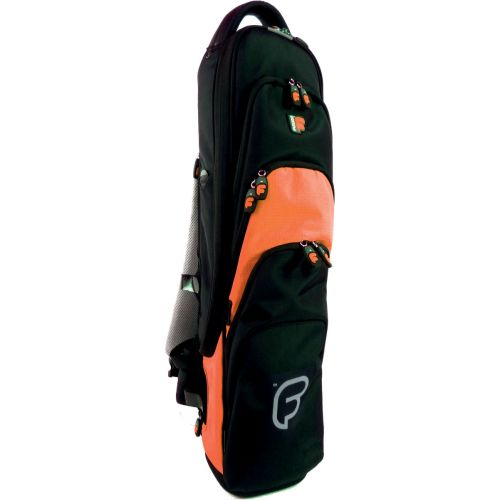 FUSION BAGS BAG FOR SOPRANO CLARINETTE FLUTE BLACK/ORANGE PW-03-O