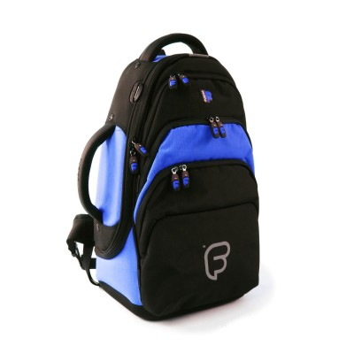 FUSION BAGS BAG FLUGELHORN BLACK AND BLUE PB-02-B