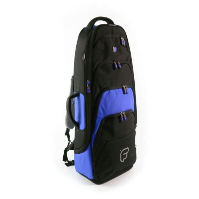 FUSION BAGS BAG SAXOPHONE TENOR BLACK AND BLUE PW-02-B