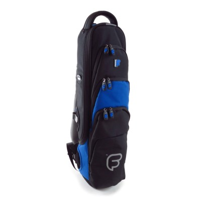 FUSION BAGS BAG SAXOPHONE SOPRANO BLACK AND BLUE PW-03-B