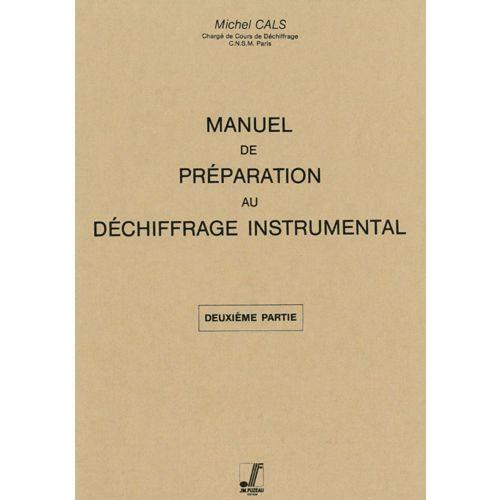 ANNE FUZEAU PRODUCTIONS CALS MICHEL - PREPARATION AU DECHIFFRAGE INSTRUMENTAL N°2 - XYLOPHONE, MARIMBA OU VIBRAPHONE