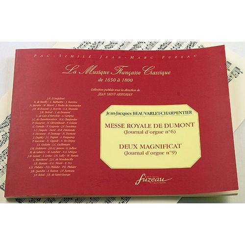 ANNE FUZEAU PRODUCTIONS BEAUVARLET-CHARPENTIER J.J. - MESSE ROYALE DE DUMONT, DEUX MAGNIFICAT