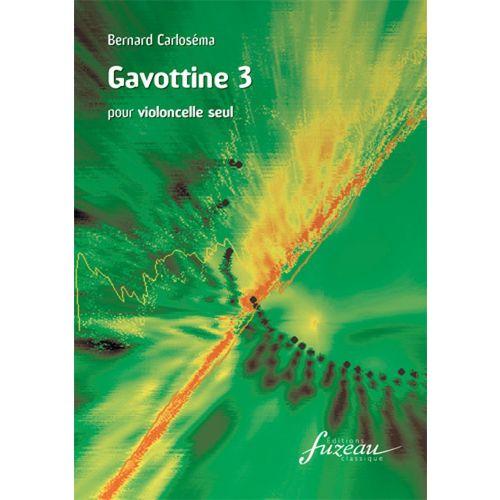 ANNE FUZEAU PRODUCTIONS CARLOSEMA BERNARD - GAVOTTINE 3 - VIOLONCELLE