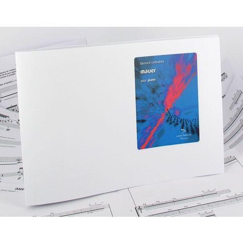 ANNE FUZEAU PRODUCTIONS CARLOSEMA B. - MAUER - PIANO