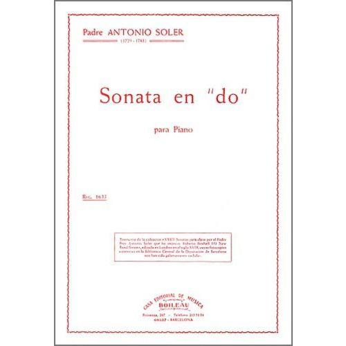 BOILEAU SOLER P.A. - SONATE EN UT MAJEUR, PRESTO - CLAVECIN