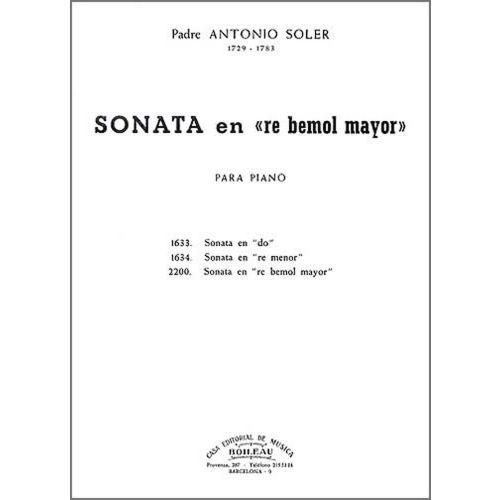 BOILEAU SOLER P.A. - SONATE EN RE B MAJEUR, ALLEGRO - CLAVECIN