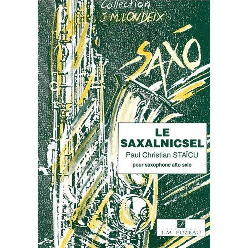 ANNE FUZEAU PRODUCTIONS STAICU P.C. - LE SAXALNICSEL - SAXOPHONE