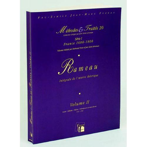 ANNE FUZEAU PRODUCTIONS POROT B./SAINT-ARROMAN J. - METHODES ET TRAITES RAMEAU VOL.2 SERIE I, FRANCE 1600-1800 - FAC-SIMILE