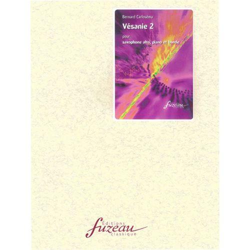 ANNE FUZEAU PRODUCTIONS CARLOSEMA BERNARD - VESANIE 2 - SAXOPHONE, PIANO