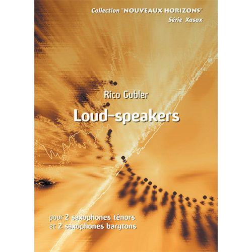 ANNE FUZEAU PRODUCTIONS GUBLER RICO - LOUD-SPEAKERS - SAXOPHONE