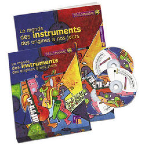 FUZEAU LE MONDE DES INSTRUMENTS DES ORIGINES A NOS JOURS - COFFRET LIVRE + 3 CD AUDIO -