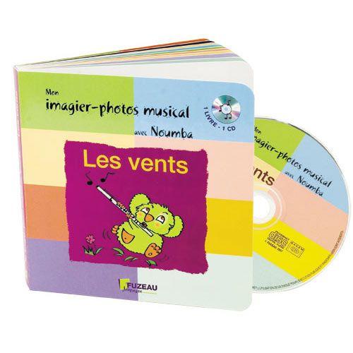 Fuzeau Saint James Guillaume Mon Imagier Photos Musical Avec Noumba Les Vents Livre Cd