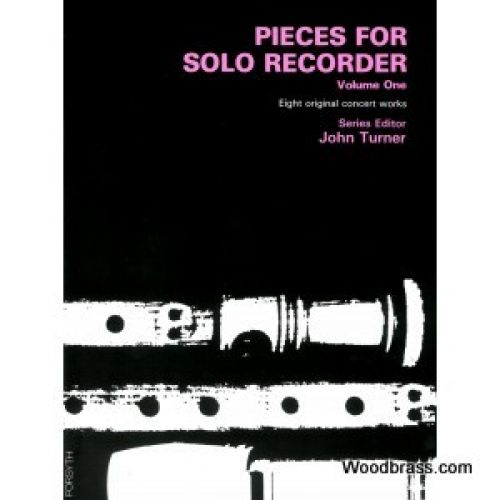 FORSYTH TURNER J. (ED.) - PIECES FOR SOLO RECORDER VOL. 1