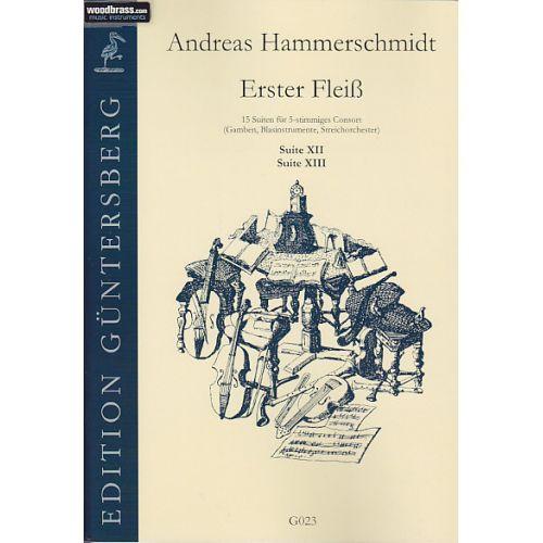 GUNTERSBERG HAMMERSCHMIDT A. - ERSTER FLEISS - 15 SUITES A 5 VOIX - SUITE XII EN SOL ET SUITE XIII EN D