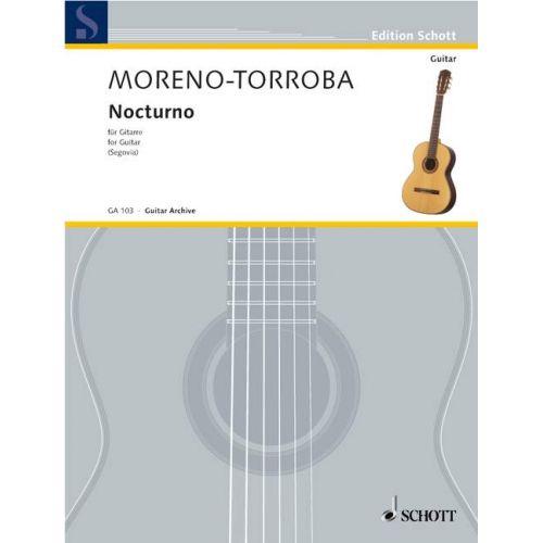 SCHOTT MORENO-TORROBA FEDERICO - NOCTURNO - GUITAR